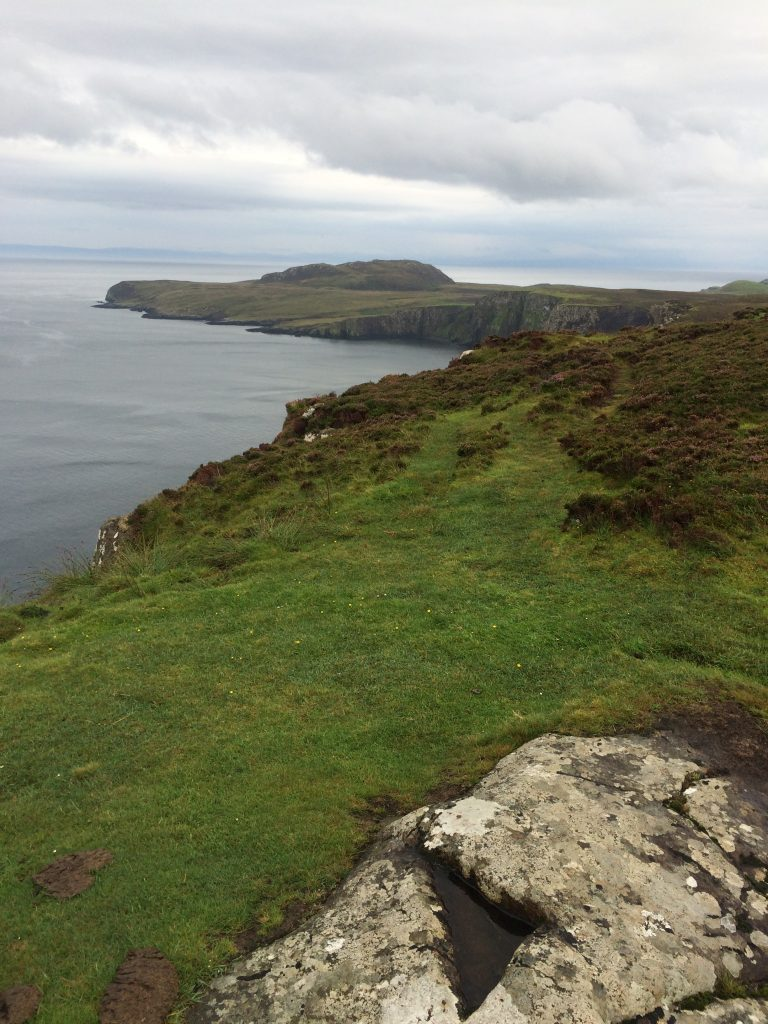 A view east from the Bothy at Rubha Hunish