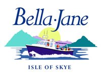 Bella-Janks logo, a drawn boat motoring through waves.