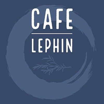 CafecLephin, their blue logo